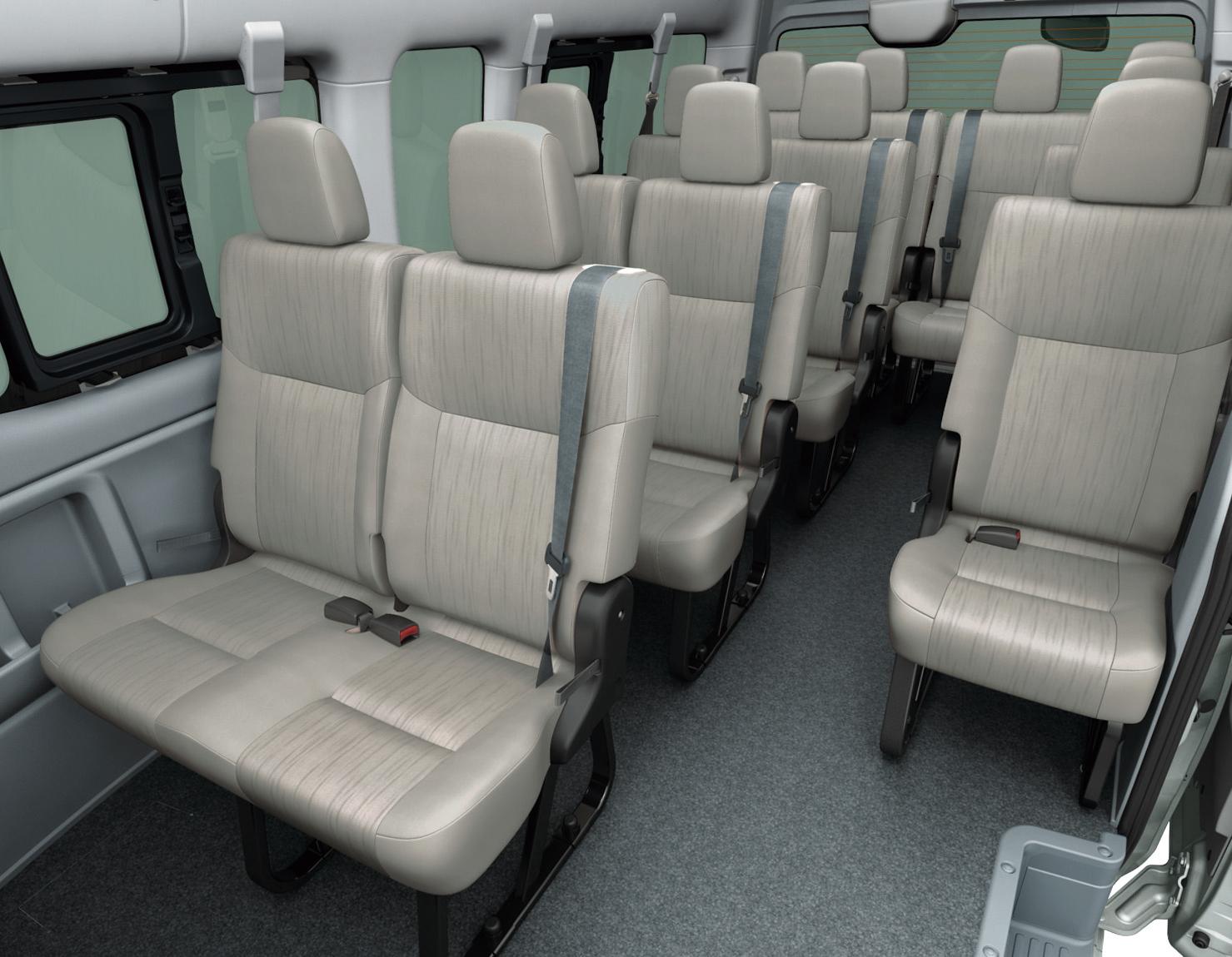 صورة مقاعد الباص نيسان NV350 - 2014 | المرسال